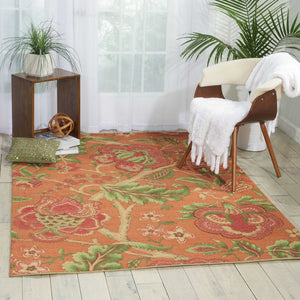 Waverly Global Awakening Imperial Dress Spice Area Rug by Nourison
