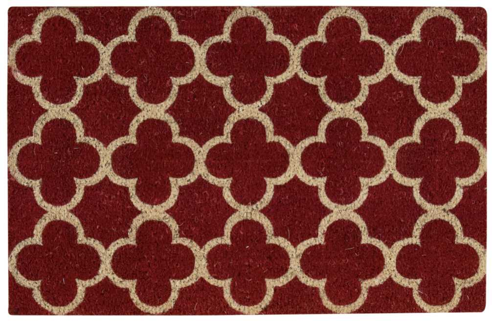 Waverly Greetings Framework Red Doormat by Nourison