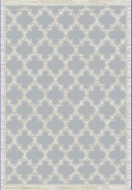 Dynamic Rugs Yazd Grey/Ivory Classic Rectangle Area Rug