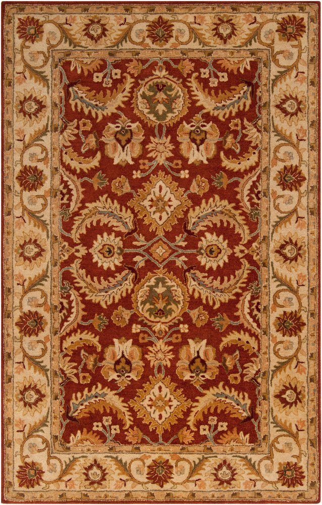 Surya Ancient Treasures A147 Red/Brown Classic Area Rug