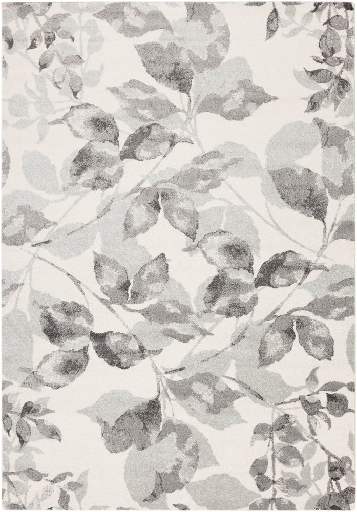 Surya Aberdine ABE8001 Grey/Neutral Floral and Paisley Area Rug