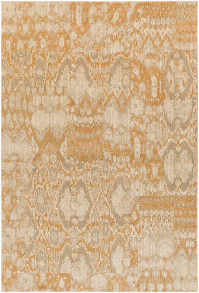 Surya Arabesque ABS3051 Brown Ikat and Suzani Area Rug