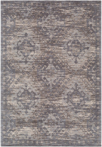 Surya Amsterdam AMS1004 Medium Gray/Dark Brown Area Rug