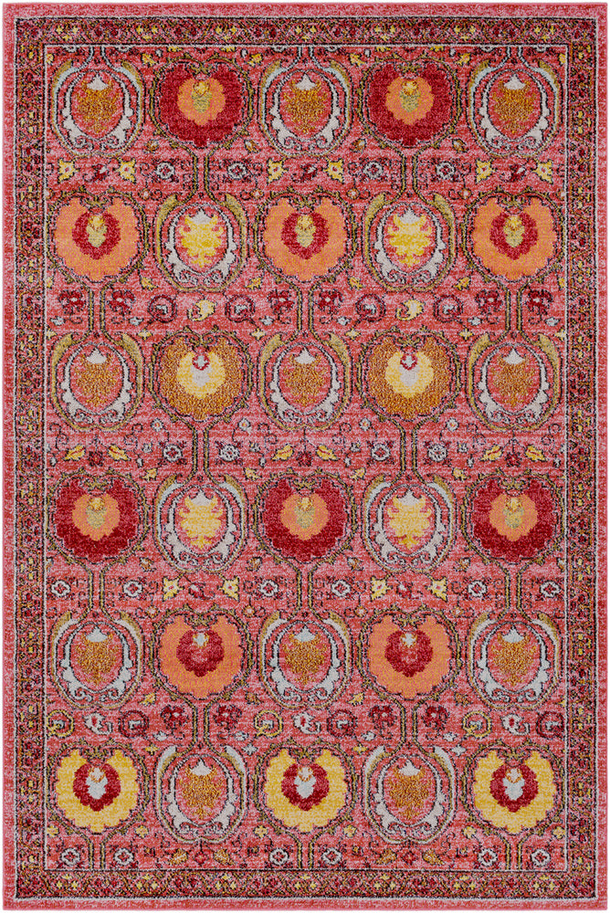 Surya Anika ANI1008 Pink/Orange Area Rug