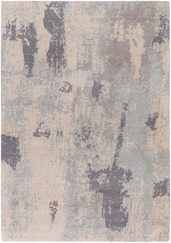 Surya Andromeda ANM1005 Neutral/Blue Modern Area Rug