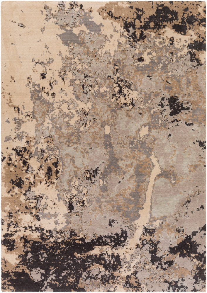 Surya Andromeda ANM1007 Neutral/Blue Modern Area Rug