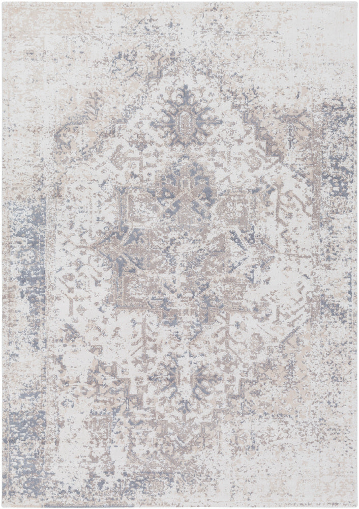 Surya Apricity APY1012 White/Brown Area Rug