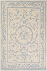 Surya Armelle ARM1007 Medium Gray/Cream Area Rug