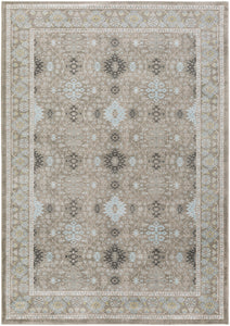 Surya Allegro ARO1002 Grey/White Area Rug