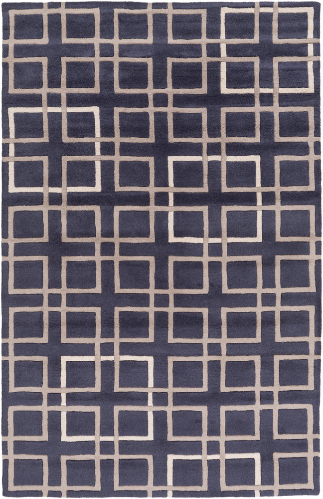 Surya Artist Studio ART237 Blue/Brown Geometric Area Rug