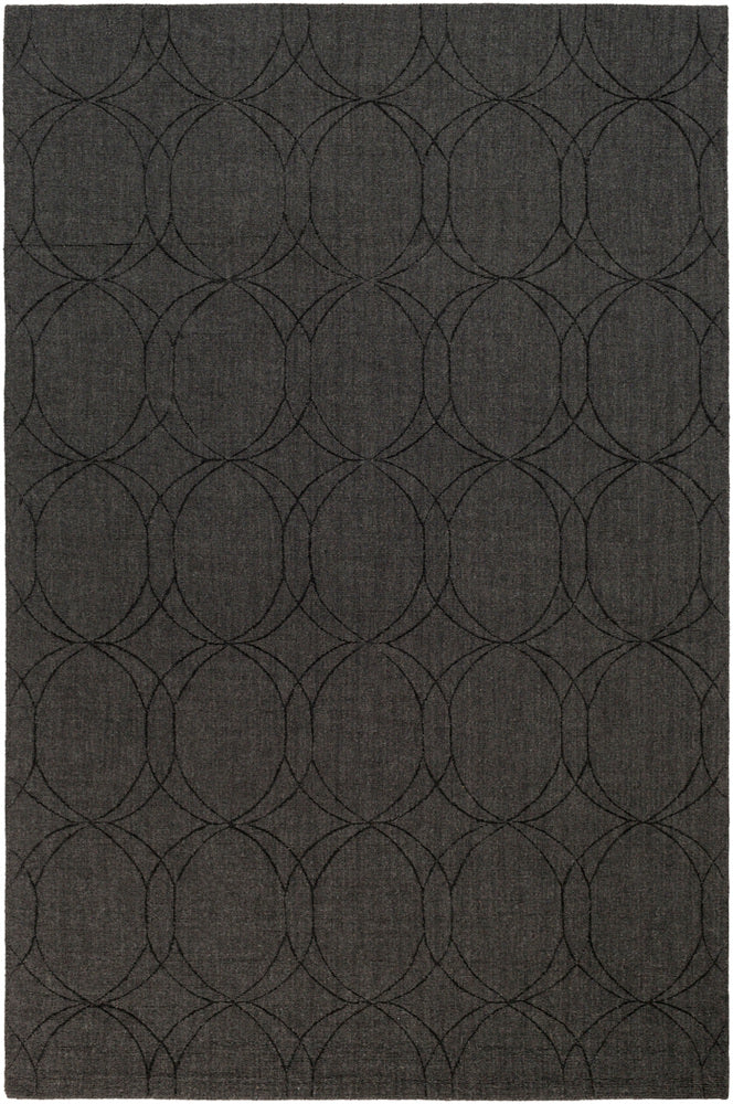 Surya Ashlee ASL1002 Black Solids and Tonals Area Rug