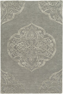 Surya Antoinette ATT2019 Grey Solids and Tonals Area Rug