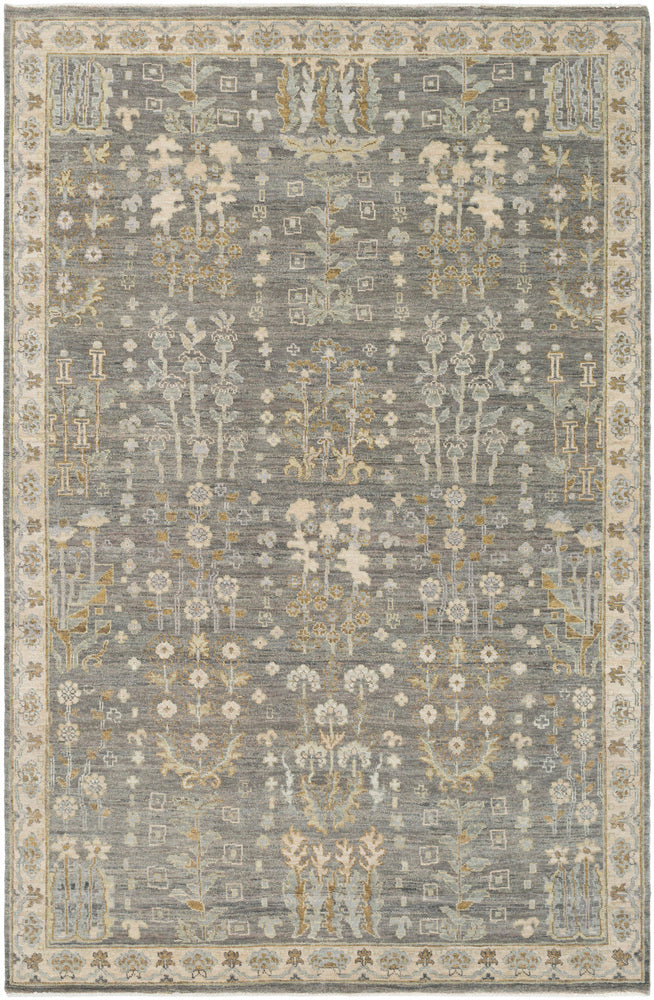 Surya Bala BAA5003 Brown/Green Traditional Area Rug