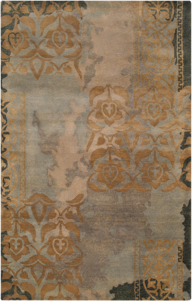 Surya Banshee BAN3335 Grey/Brown Area Rug