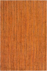 Surya Brice BIC7005 Orange/White Natural Fiber Area Rug