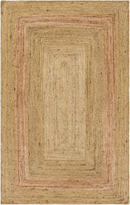 Surya Brice BIC7010 Green/Neutral Natural Fiber Area Rug
