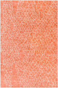 Surya Bjorn BJR1009 Orange/Brown Natural Fiber and Texture Area Rug