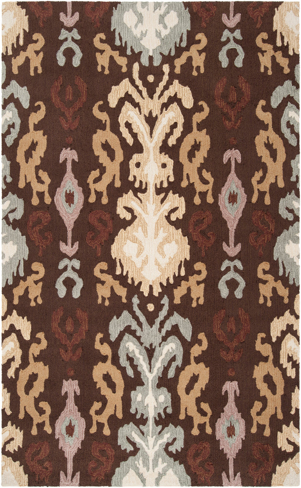 Surya Brentwood BNT7673 Brown/Grey Transitional Area Rug