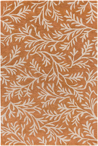 Surya Brilliance BRL2010 Orange/Brown Outdoor Area Rug