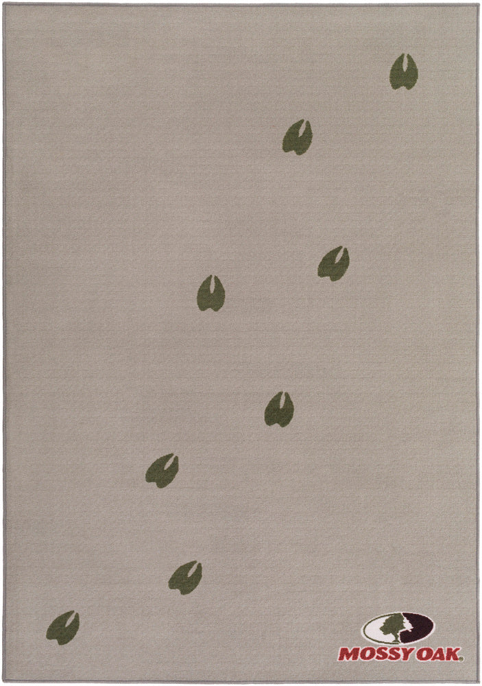 Surya Big Sky Cabin BSC1018 Grey/Black Animal Area Rug