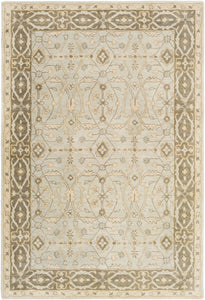 Surya Blumenthal BUH1006 Green/Brown Classic Area Rug