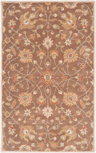 Surya Caesar CAE1086 Brown/Red Classic Area Rug