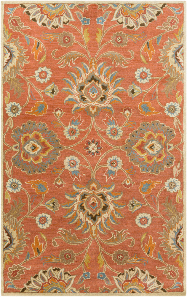 Surya Caesar CAE1107 Orange/Brown Classic Area Rug