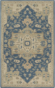 Surya Caesar CAE1145 Blue/Neutral Traditional Area Rug