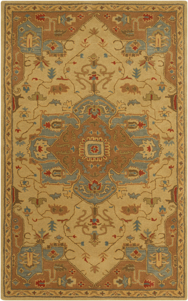 Surya Caesar CAE1146 Brown/Green Traditional Area Rug