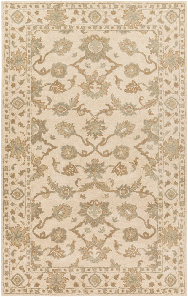 Surya Caesar CAE1182 Neutral/Green Classic Area Rug