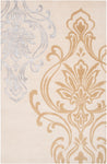 Surya Modern Classics CAN1982 Neutral/Brown Designer Area Rug