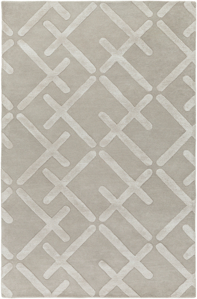 Surya Chamber CHB1000 Brown/Grey Modern Area Rug
