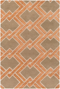 Surya Chamber CHB1018 Brown/Neutral Modern Area Rug
