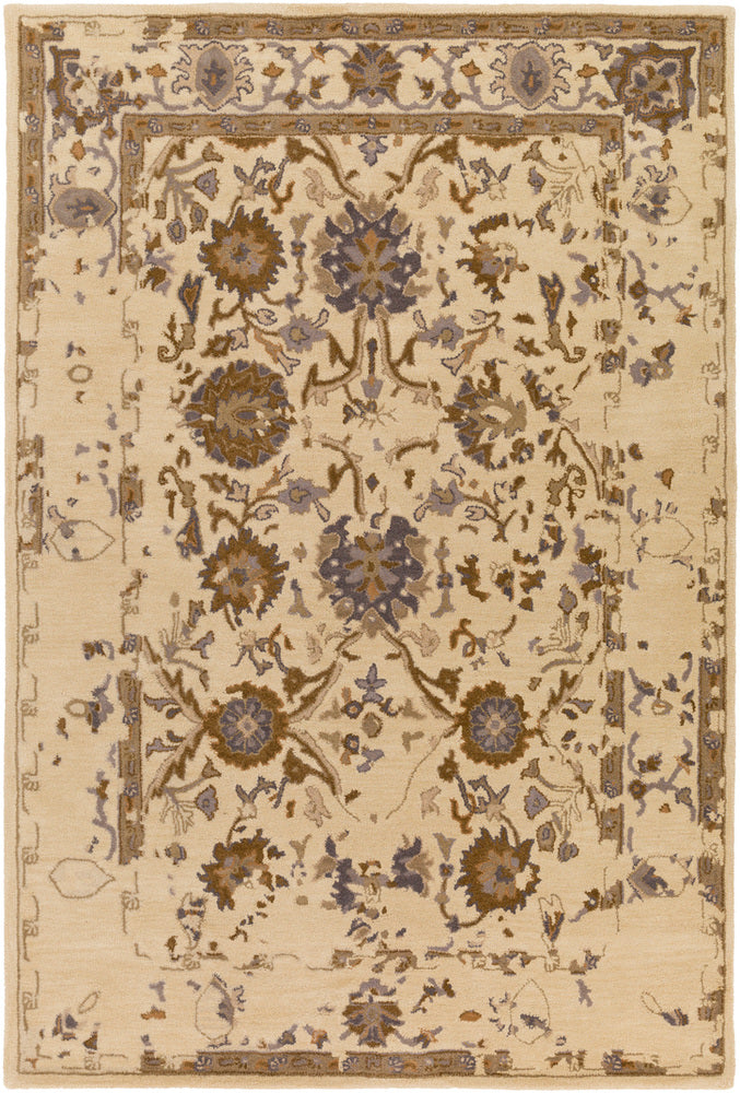 Surya Castello CLL1015 Neutral/Brown Classic Area Rug
