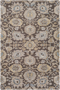 Surya Castello CLL1029 Grey/Brown Classic Area Rug