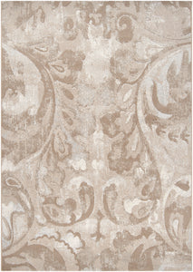 Surya Contempo CPO3706 White/Neutral Contemporary Area Rug