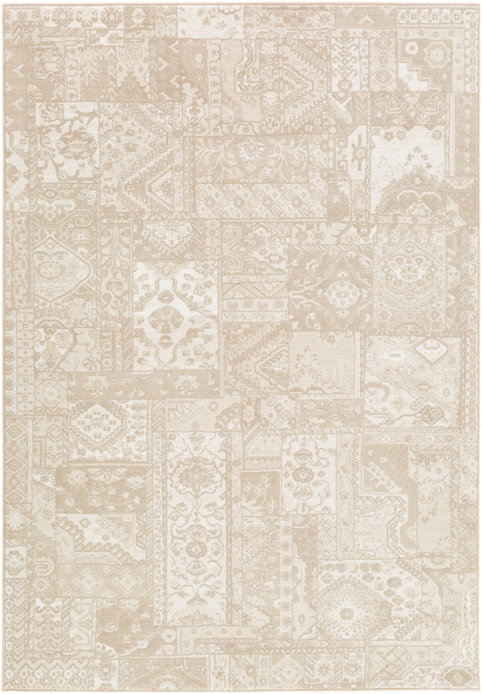 Surya Contempo CPO3715 Brown/White Modern Area Rug
