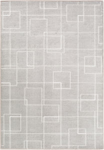 Surya Contempo CPO3717 Grey/White Modern Area Rug