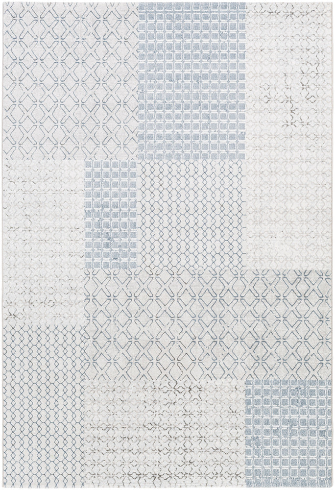 Surya Contempo CPO3729 White/Grey Area Rug