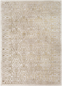 Surya Crescendo CRC1002 Dark Brown/Camel Area Rug