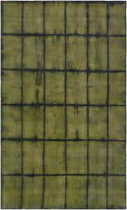 Surya Cruise Crs7001 Green Black Geometric Area Rug Rolledrugs