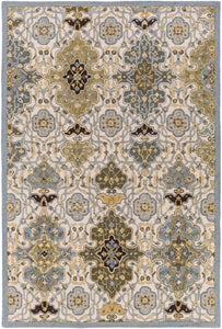 Surya Castille CTL2007 Blue/Brown Traditional Area Rug
