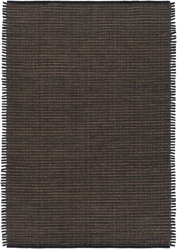 Surya Daniel DNL3003 Black/Brown Solids and Tonals Area Rug