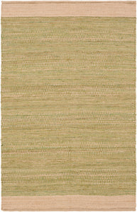 Surya Davidson DVD1001 Green/Brown Natural Fiber Area Rug
