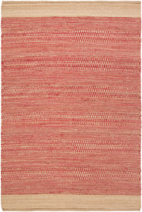 Surya Davidson DVD1007 Red/Brown Natural Fiber Area Rug