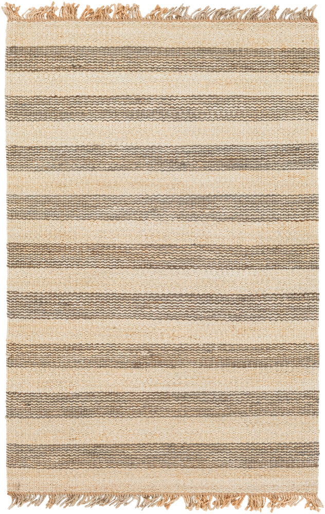 Surya Davidson DVN2001 Grey/Neutral Stripes Area Rug