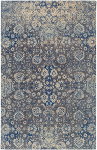 Surya Edith EDT1019 Neutral/Grey Classic Area Rug
