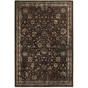 Oriental Weavers Empire Brown/Ivory Oriental 113D4 Area Rug