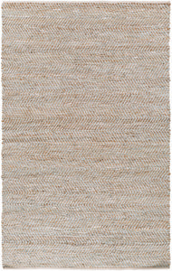 Surya Gideon GDE4001 Blue/Brown Natural Fiber and Texture Area Rug