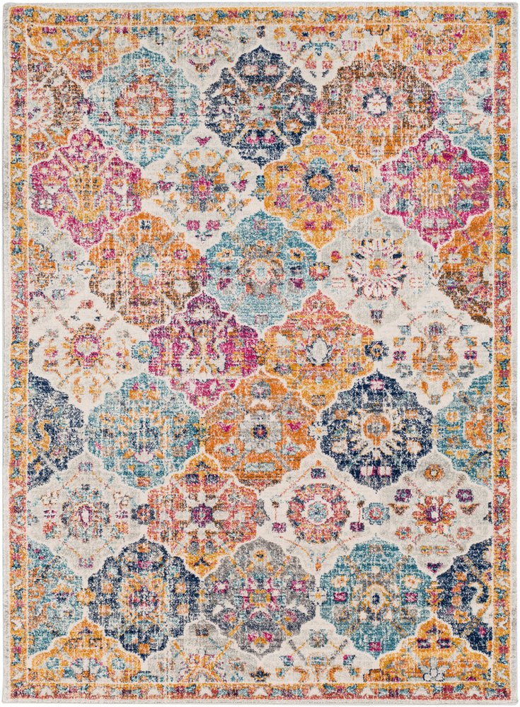 Surya Harput HAP1018 Neutral/Orange Area Rug
